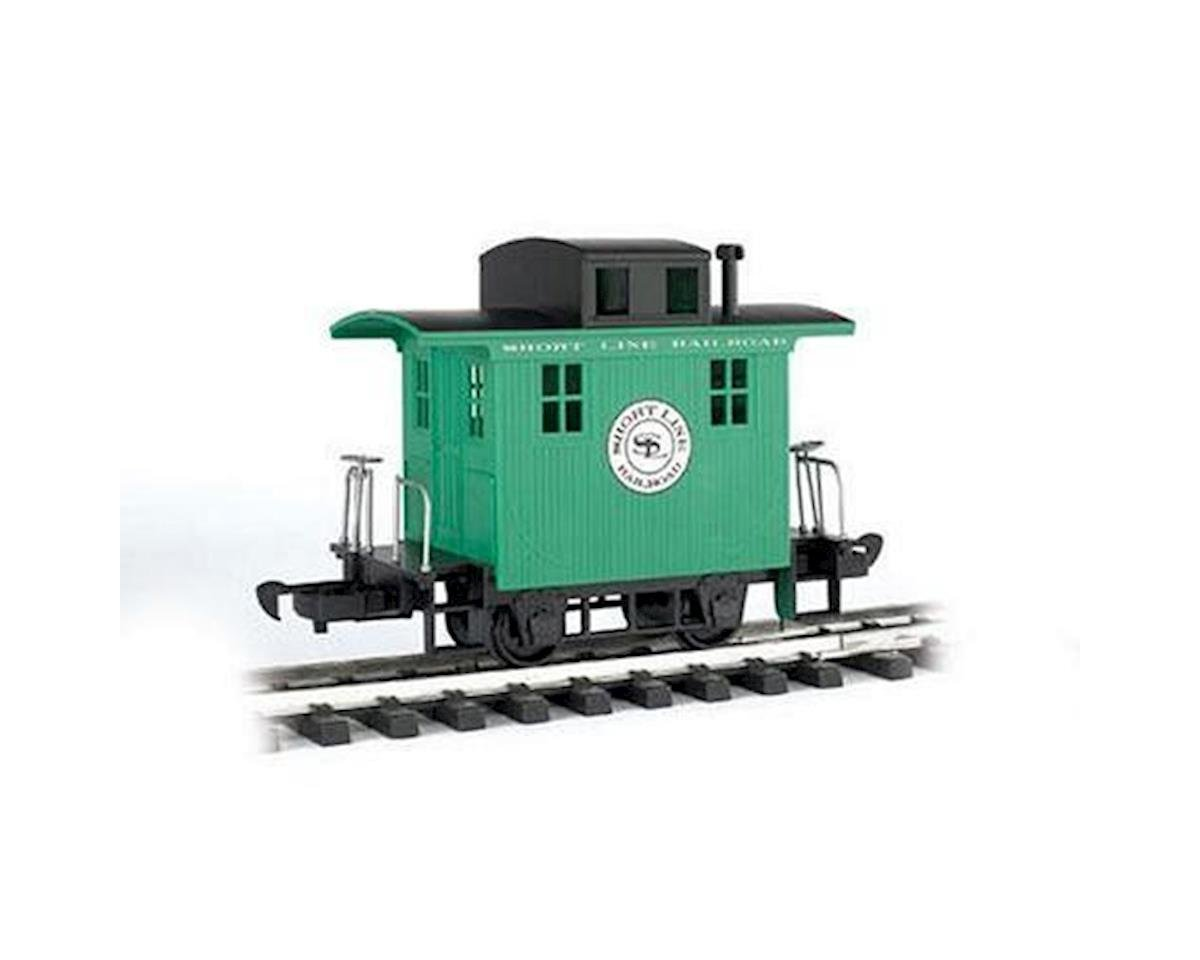 G Li'l Big Haulers Caboose, Short Line/Green by Bachmann