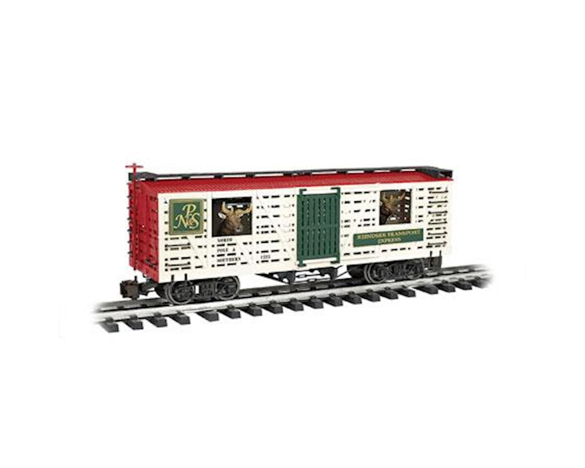 Bachmann G Animated Stock, NP&S/Reindeer/Christmas
