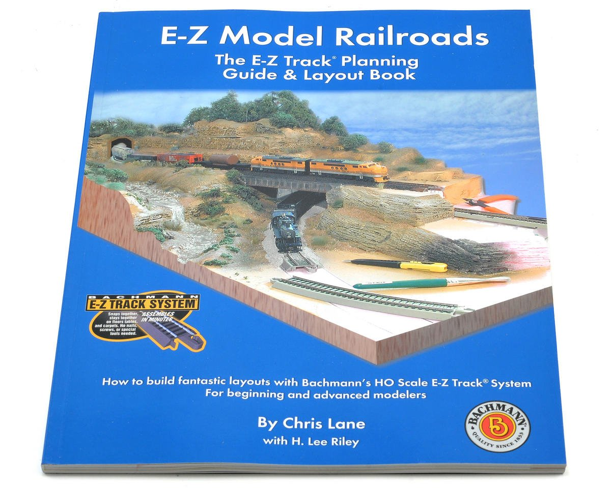 E-Z Model Railroads Track Planning Book by Bachmann