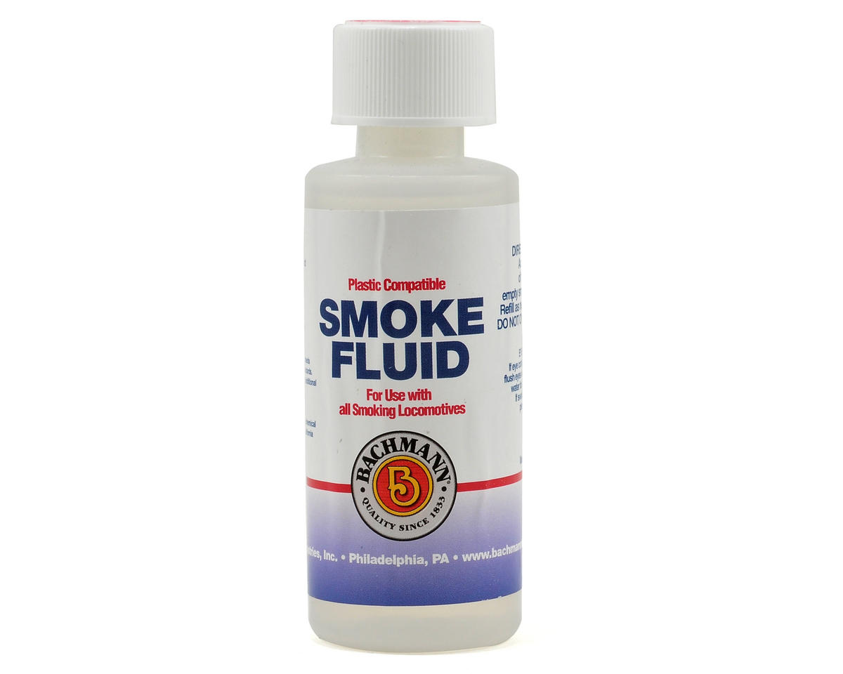 Bachmann Plastic Compatible Smoke Fluid (2.25oz)