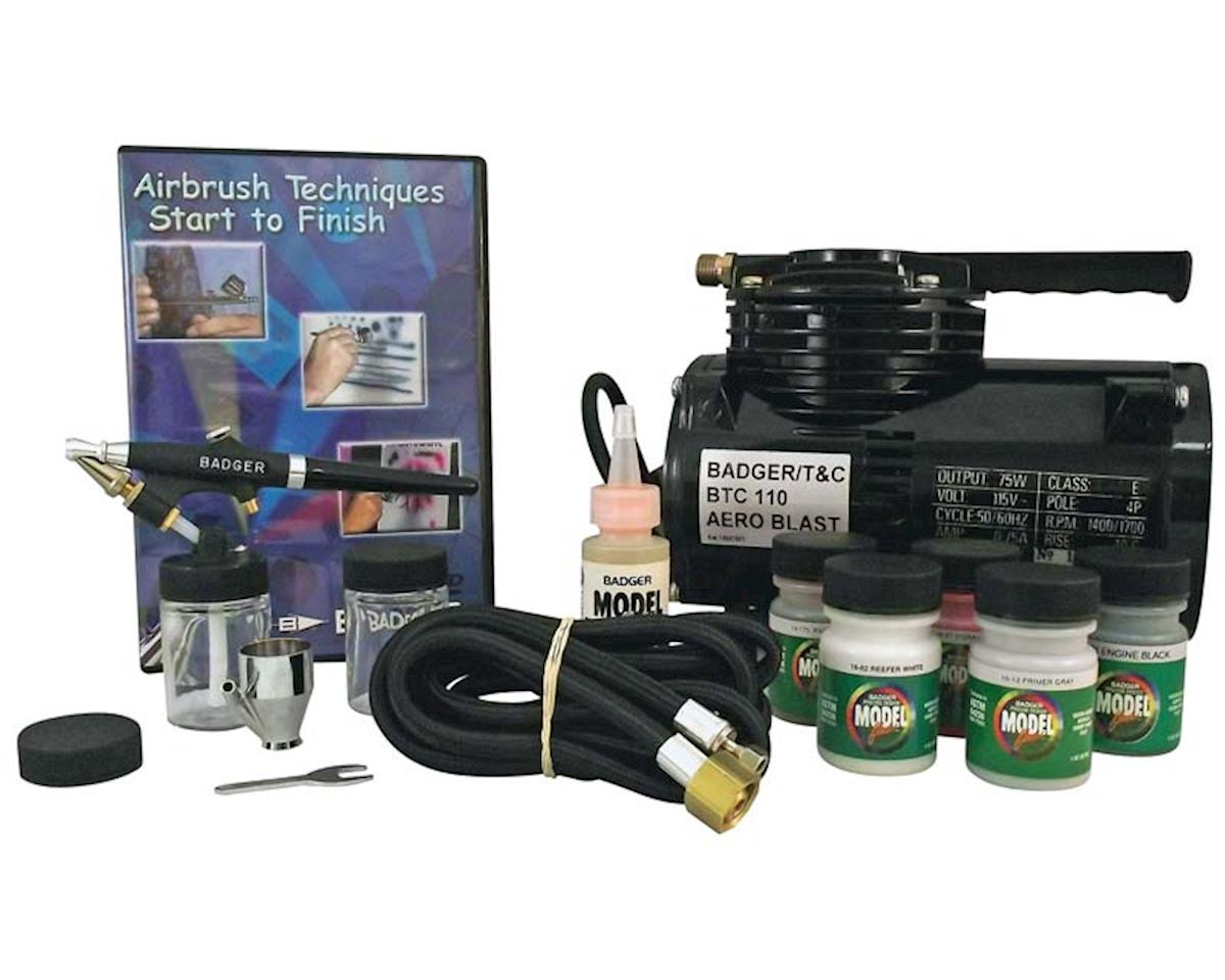 Badger Air-brush Co. 314-HSWC Complete Hobby Set w/Compressor
