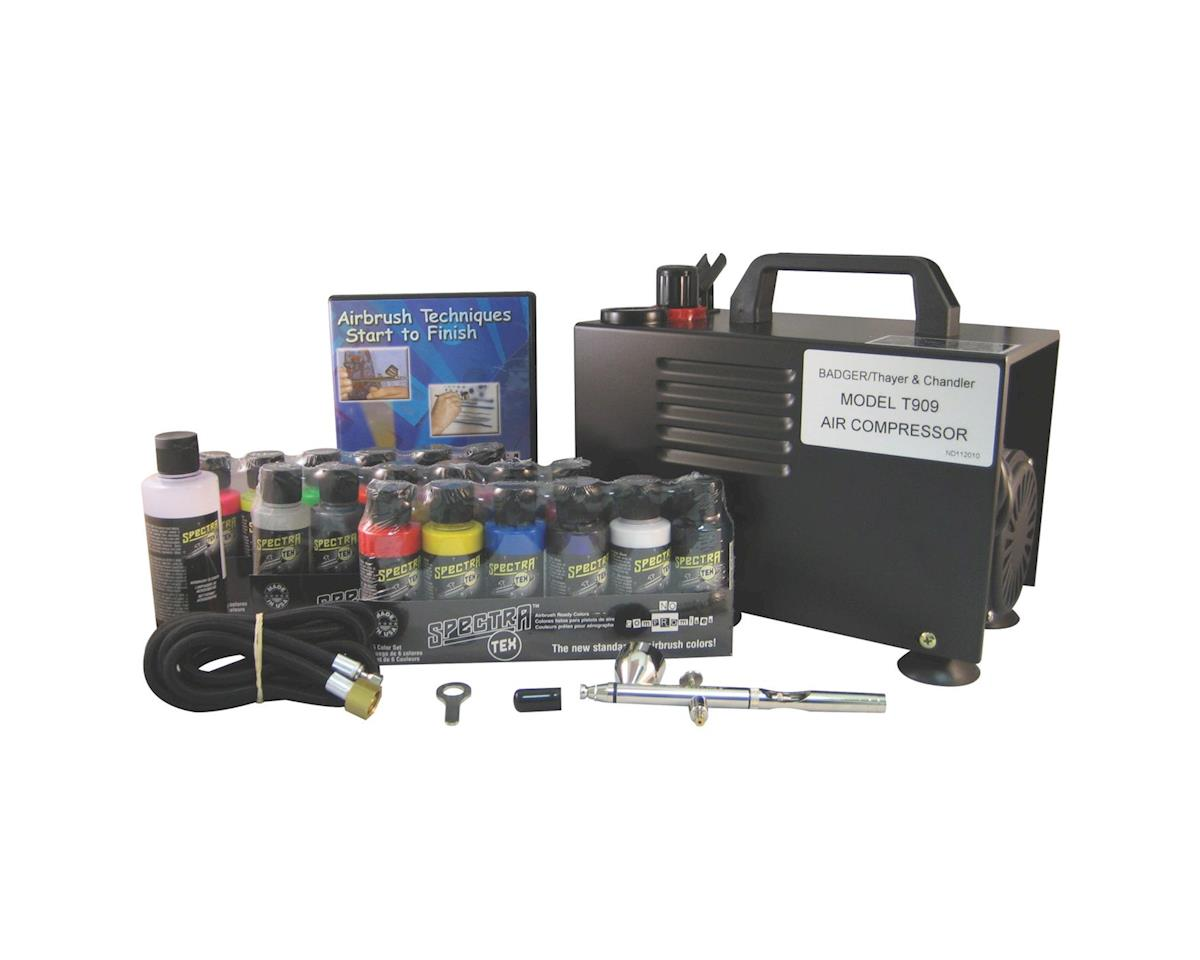 Badger Air-brush Co. Omni 4000 General Set, with T909 Compressor