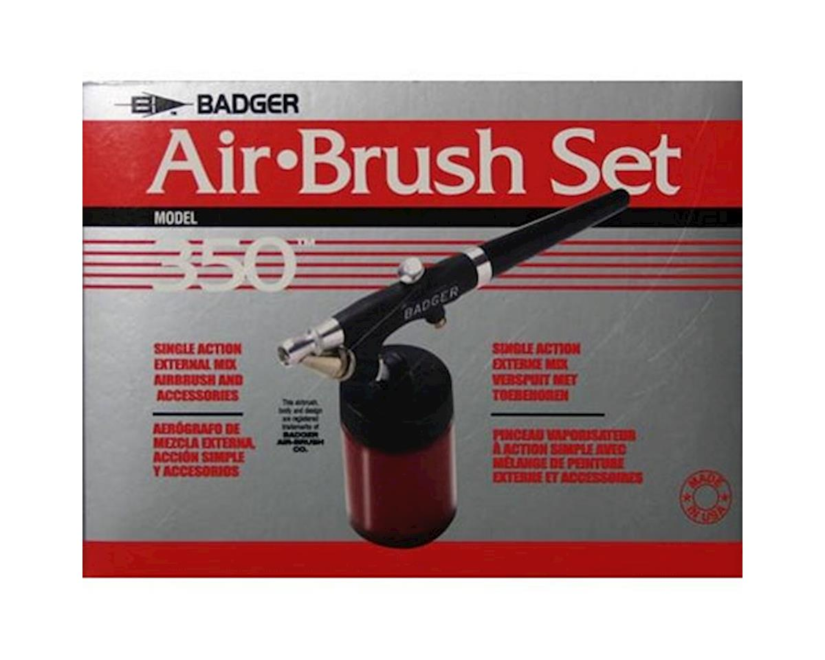 350 Airbrush Set with 3 Heads (F, M, H) by Badger Air-brush Co.