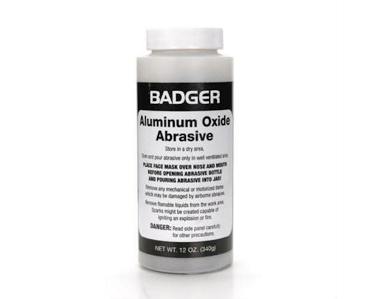 Badger Air-brush Co. Aluminum Oxide Abrasive 12oz. Net. Weight
