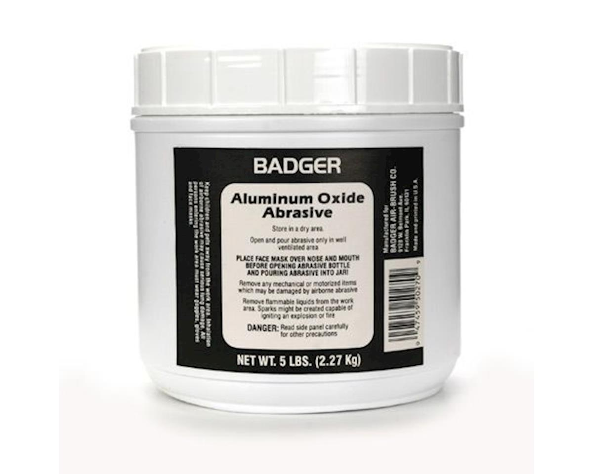 Aluminum Oxide Abrasive 5 lbs. Net. Weight for Mod by Badger Air-brush Co.