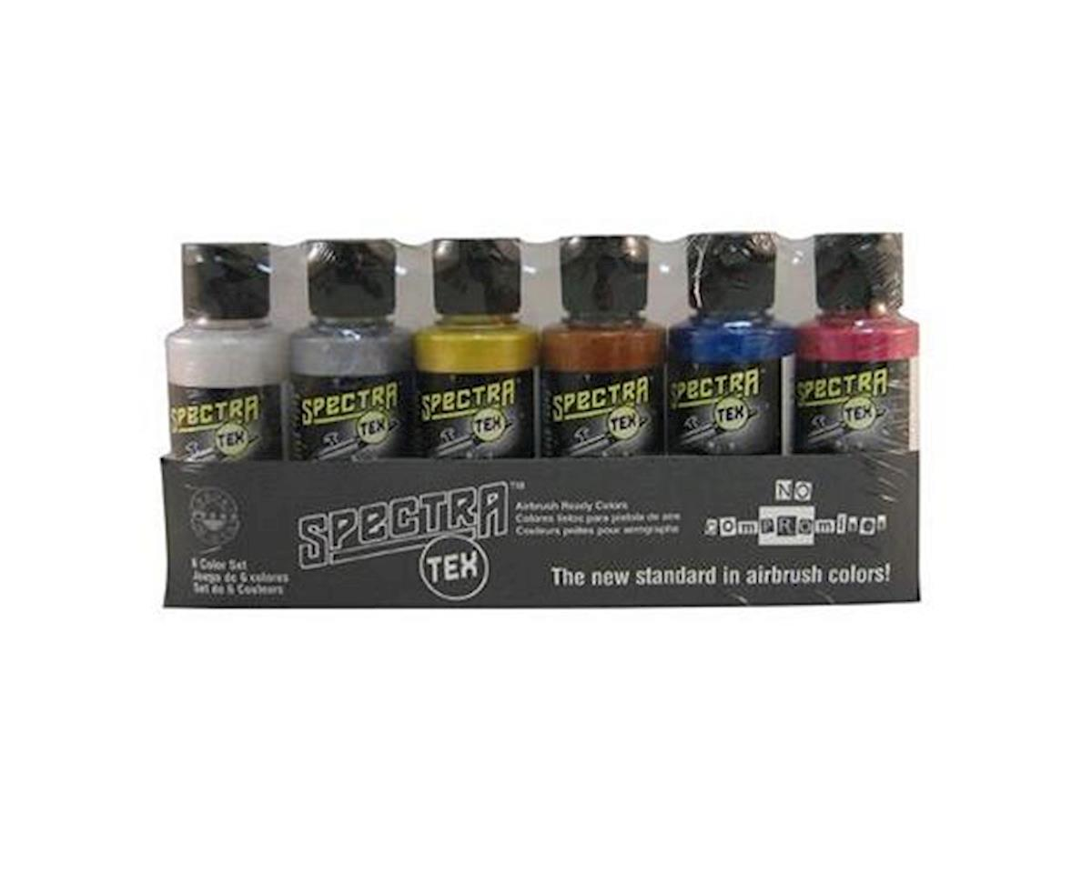 Badger Air-brush Co. 6 Color Metallic Set, 2 oz