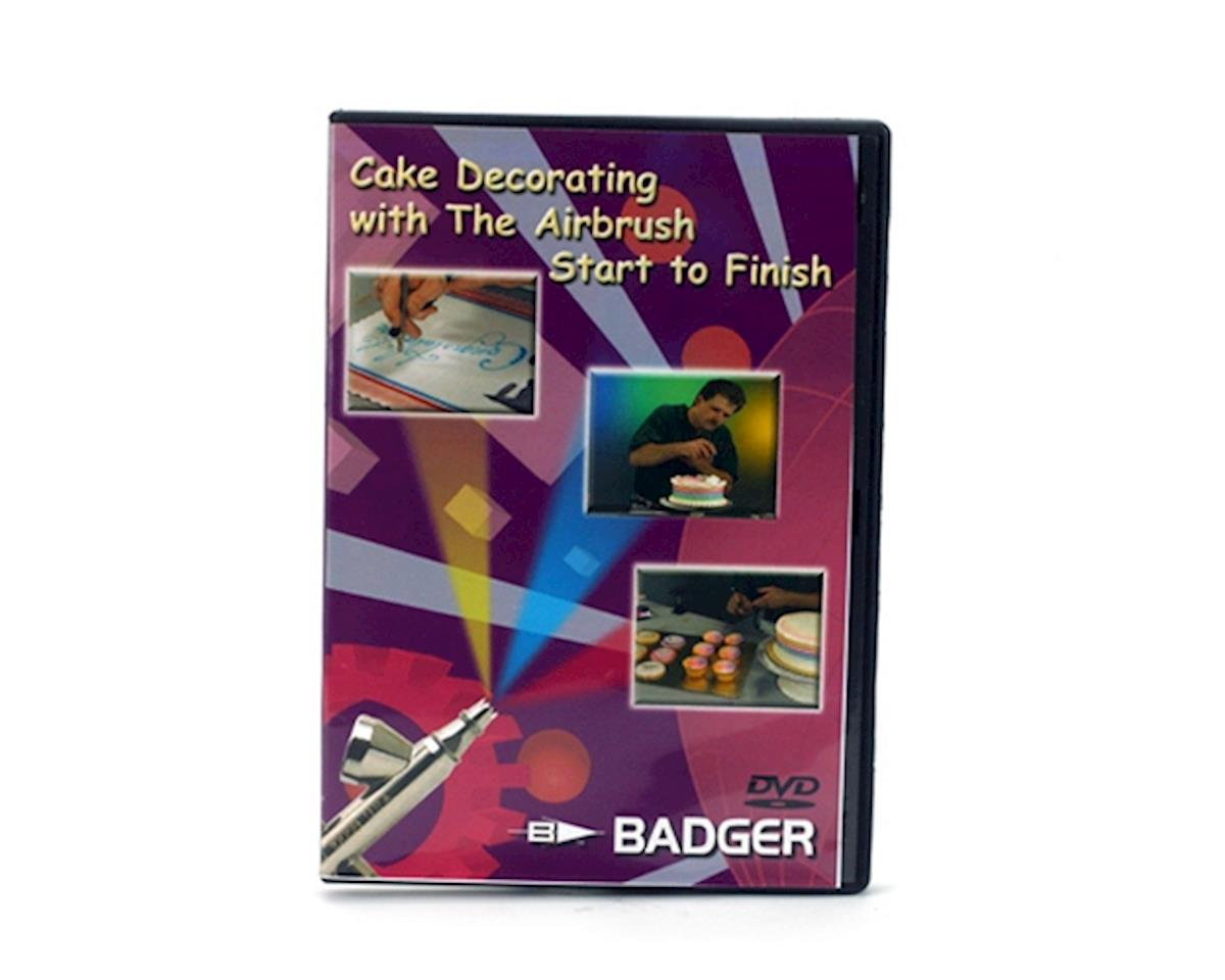 Badger Air-brush Co. Cake Decorating with Airbrush, DVD