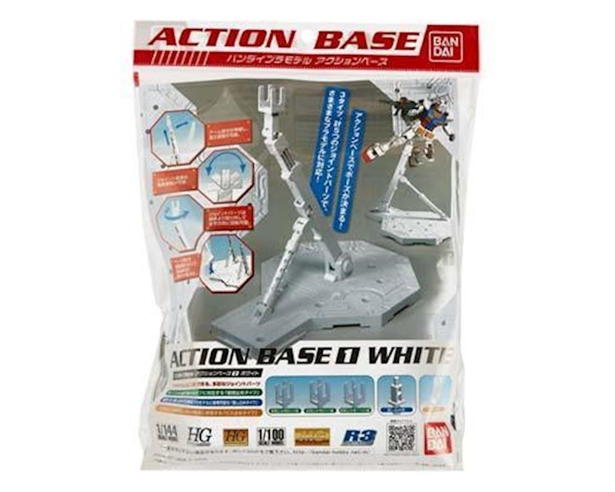 1/100 White Display Stand Action Base I by Bandai