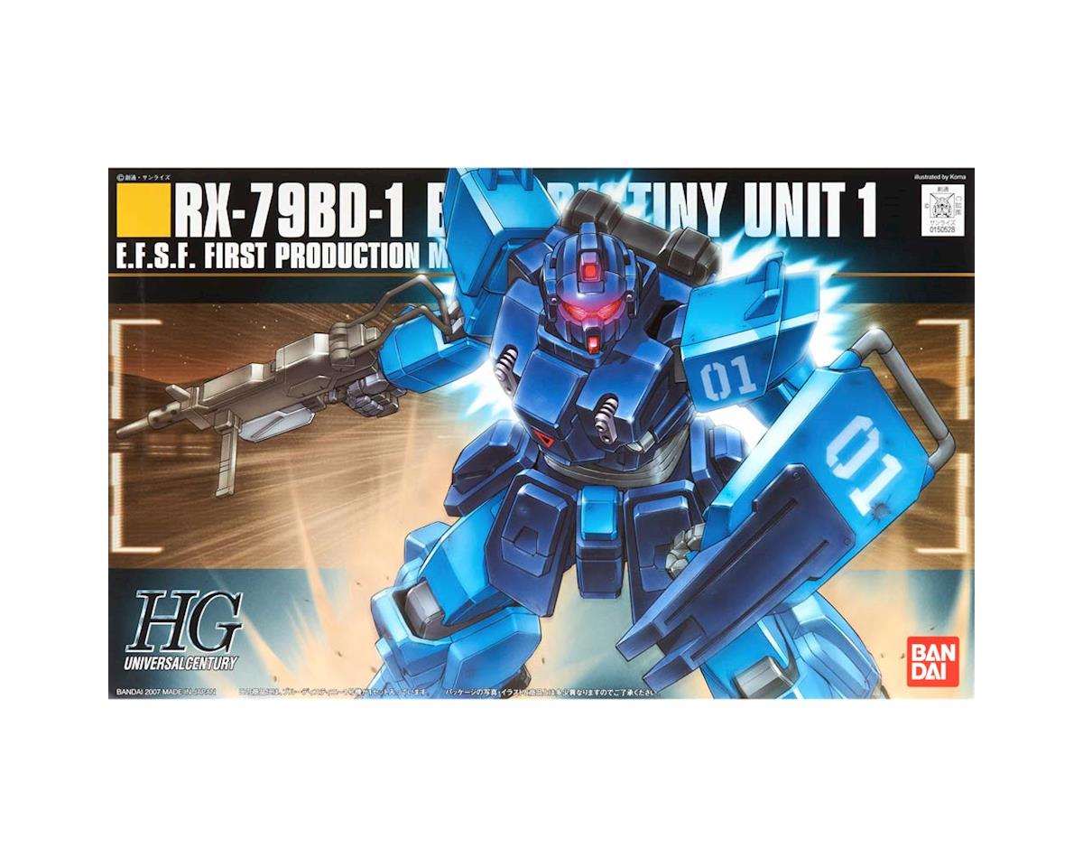 #80 Rx-78Bd-1 Blue Destiny Unit 1 Bandai Hguc by Bandai