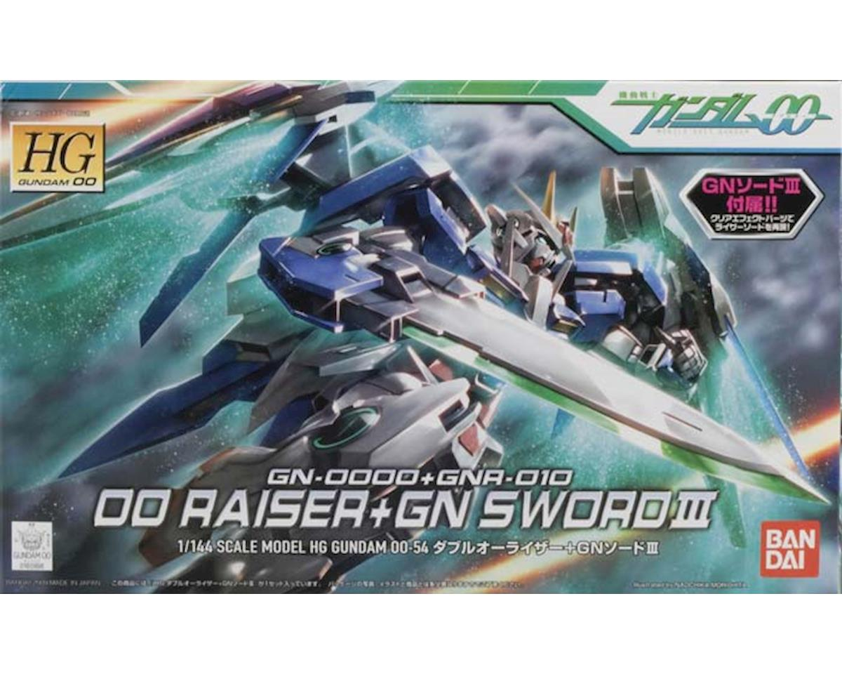Models  1/144 #54 Oo Raiser + Gn Sword Iii by Bandai