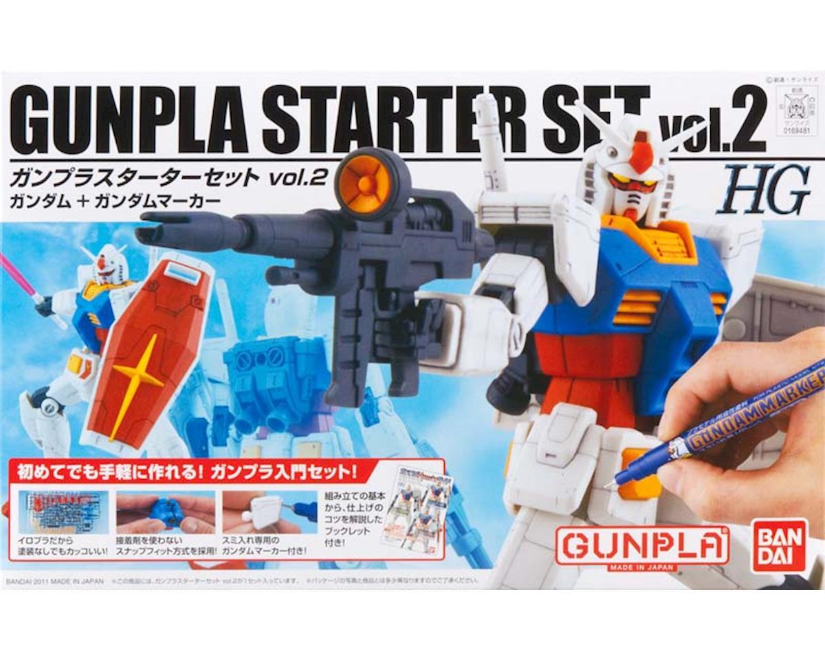 Models  1/144 Hguc Gunpla Starter Set 2 by Bandai