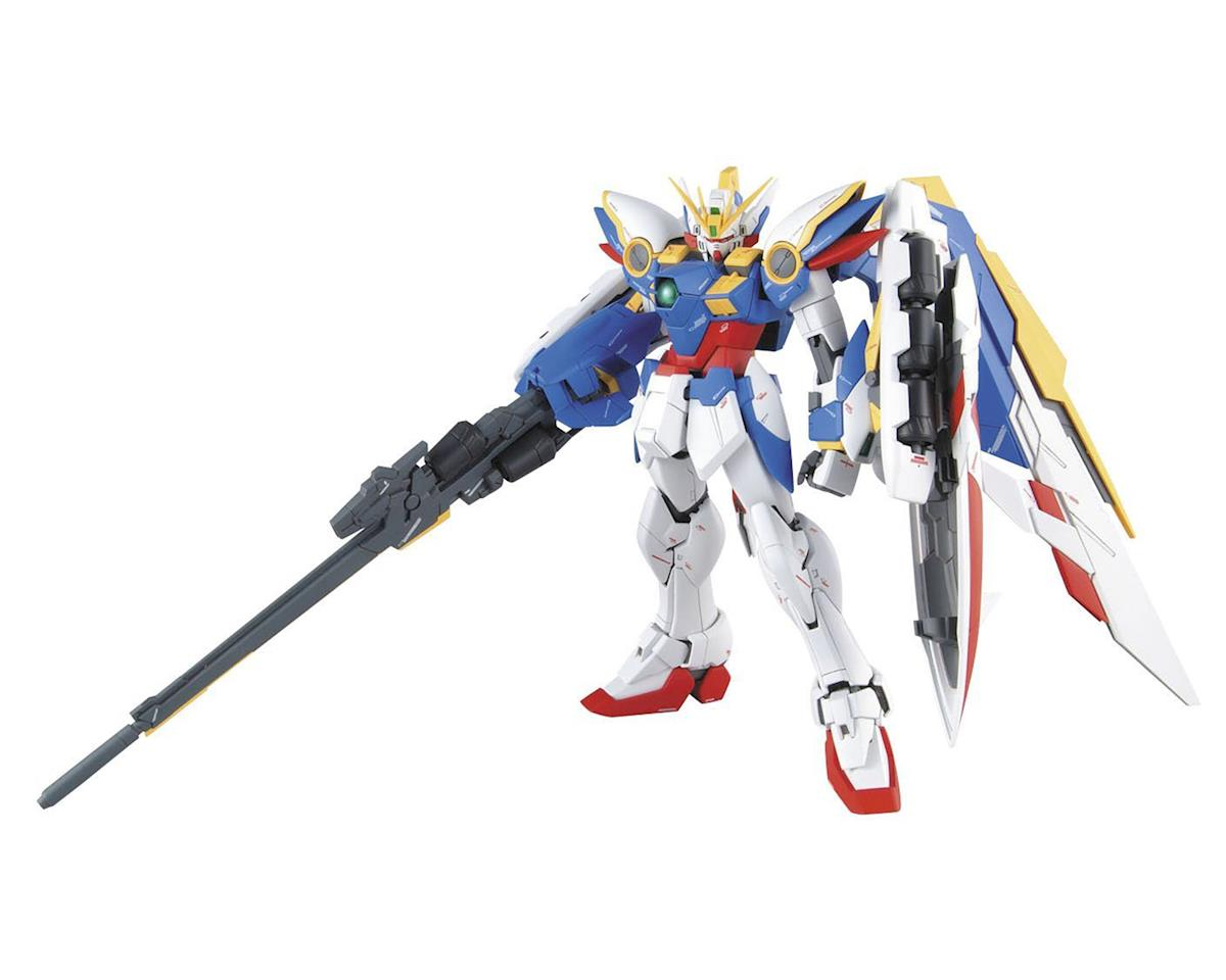 Wing Gundam Version EW 1/100 Master Grade Action Figure Model Kit by Bandai