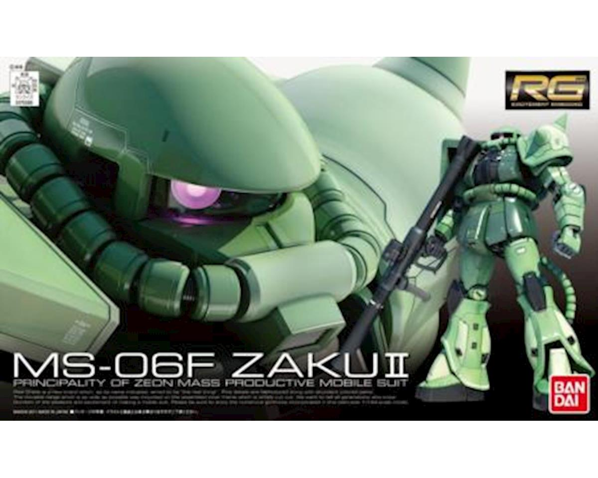 Models  1/144 Gundam Real Grade Series: #4 Ms06f Zaku Ii by Bandai