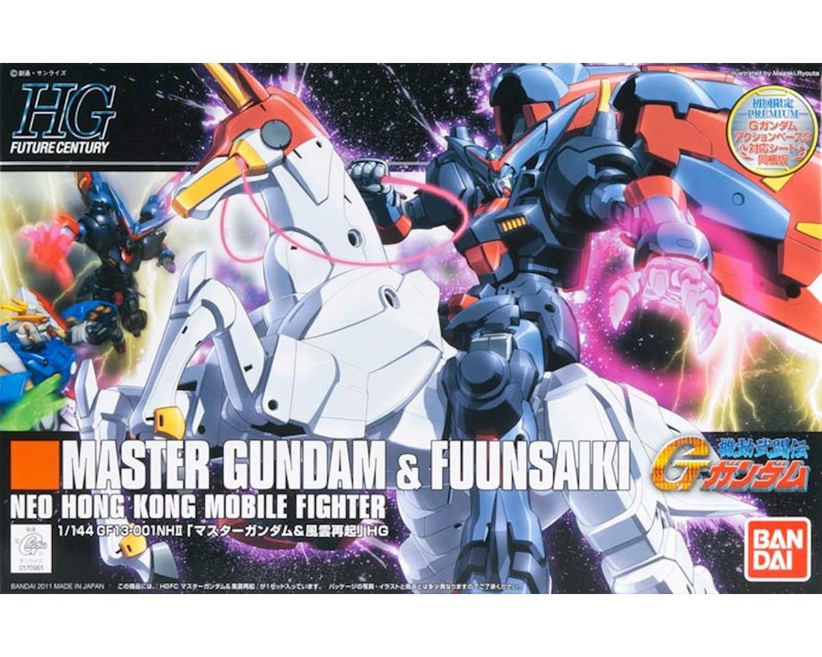 Bandai Models  1/144 Hguc #128 Master Gundam/Fuun Saiki