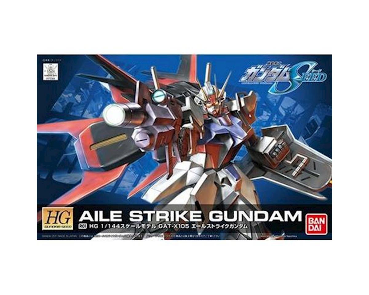 Bandai 1/144 SEED HG #1 Aile Strike Gundam Remaster