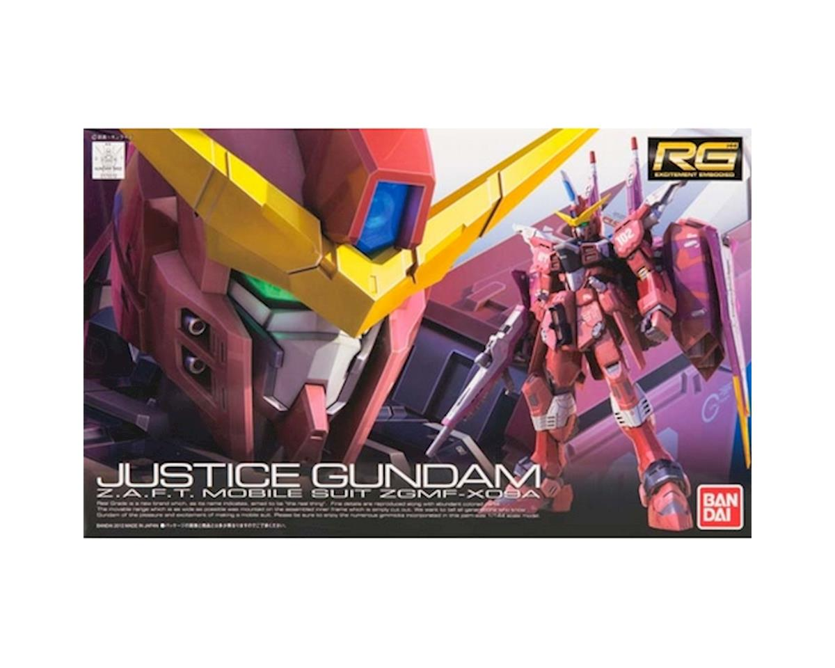 Models  1/144 Gundam Real Grade Series: #9 Justice Gundam by Bandai