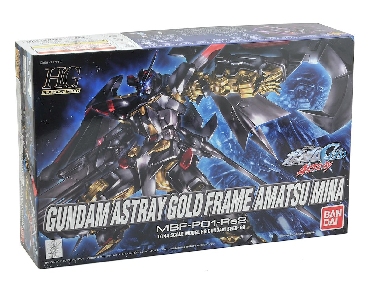 Bandai Astray Gold Frame Gundam #59 1/144 Hi Grade Action Figure Model