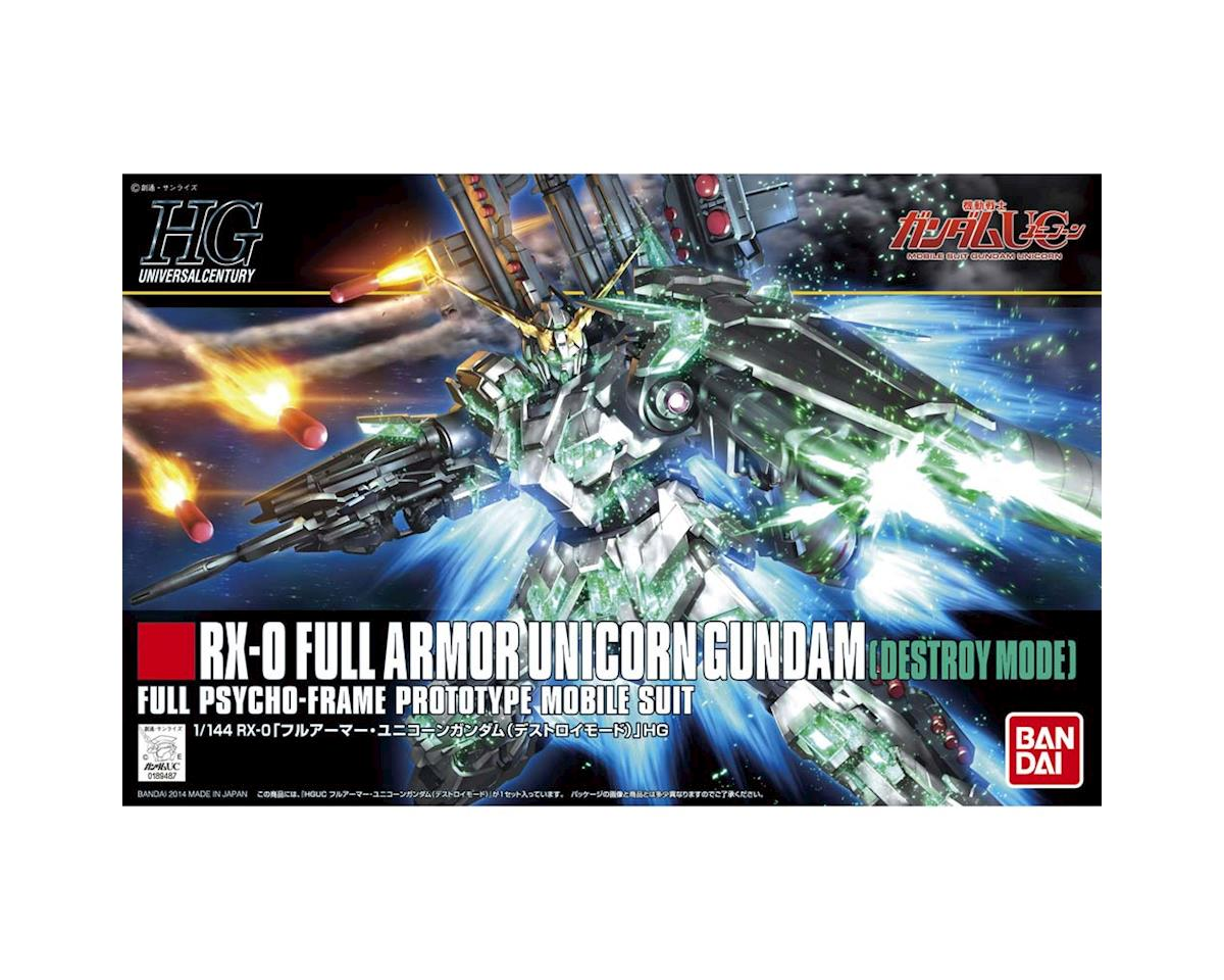 189487 1/144 #178 Full Armor Unicorn Gundam Destroy HG by Bandai