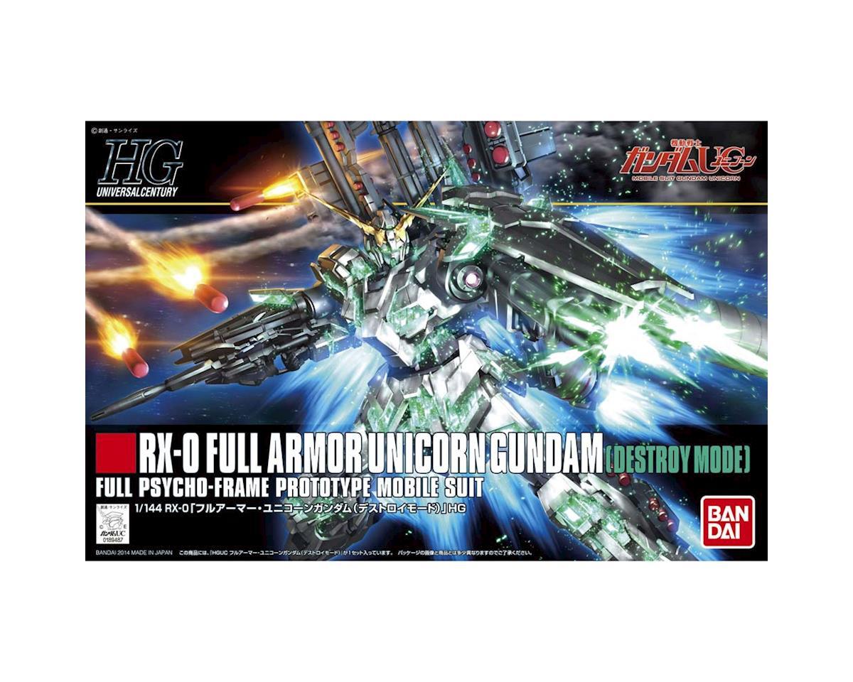 Bandai 189487 1/144 #178 Full Armor Unicorn Gundam Destroy HG