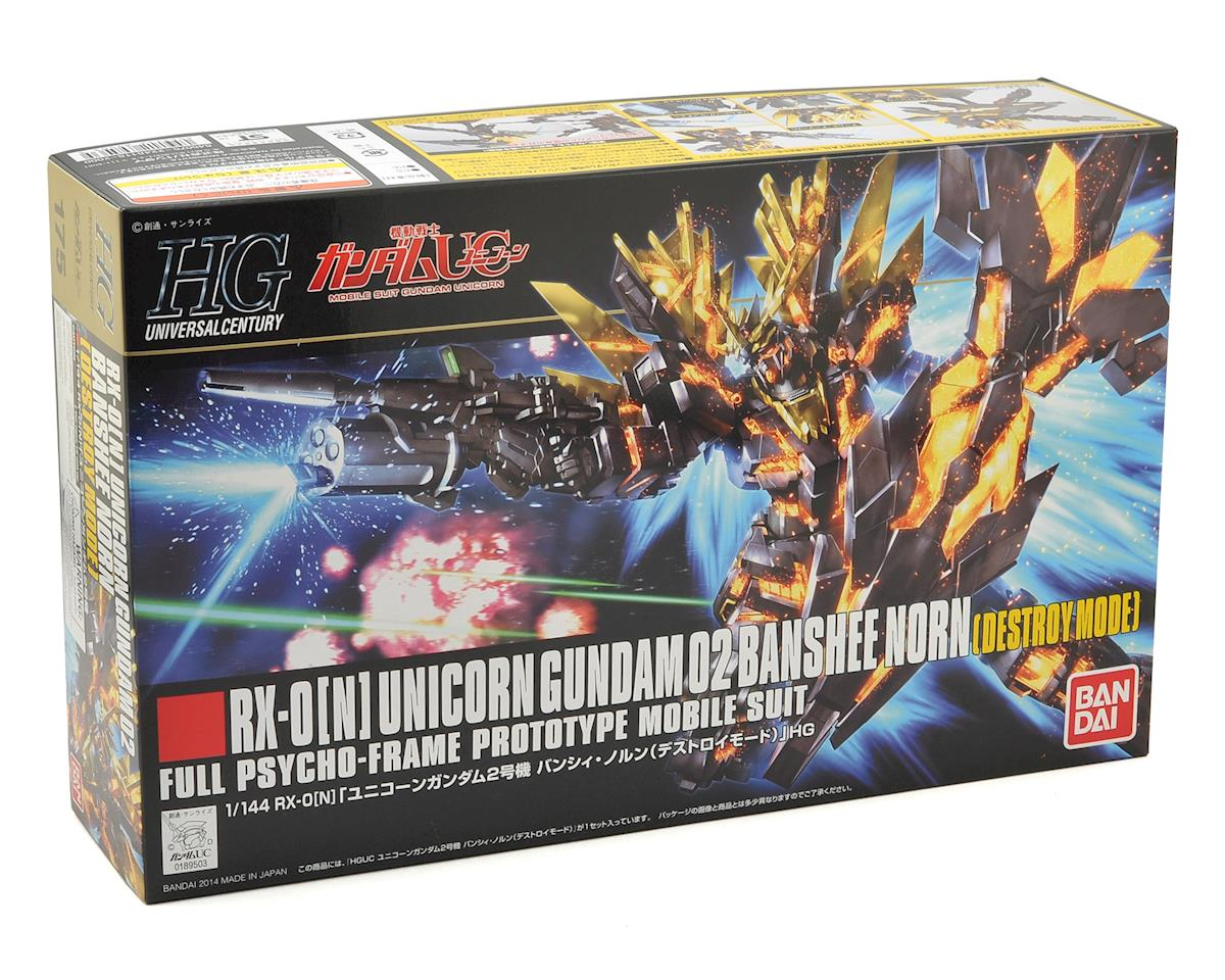 Bandai RX-0[N] Banshee Norn Destroy Mode Gundam #175