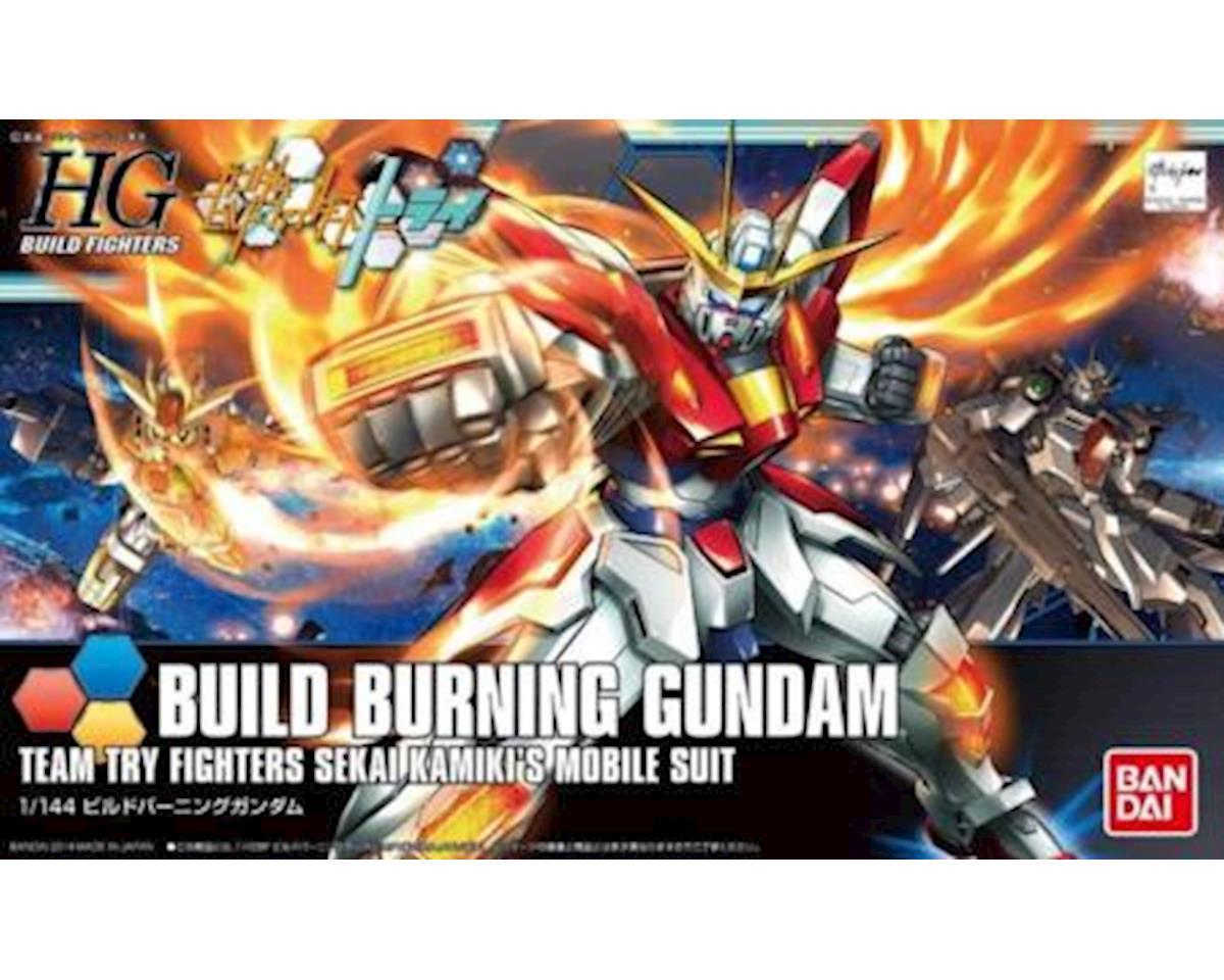 Bandai 1/144 Build Burning Gundam