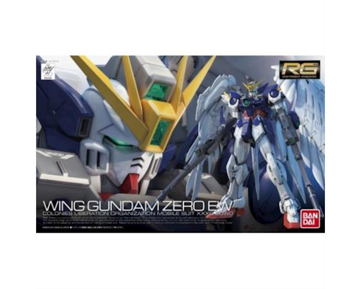 "Bandai Wing Gundam Zero ""Endless Waltz"" #17 1/144 Real Grade Action Figure Model"