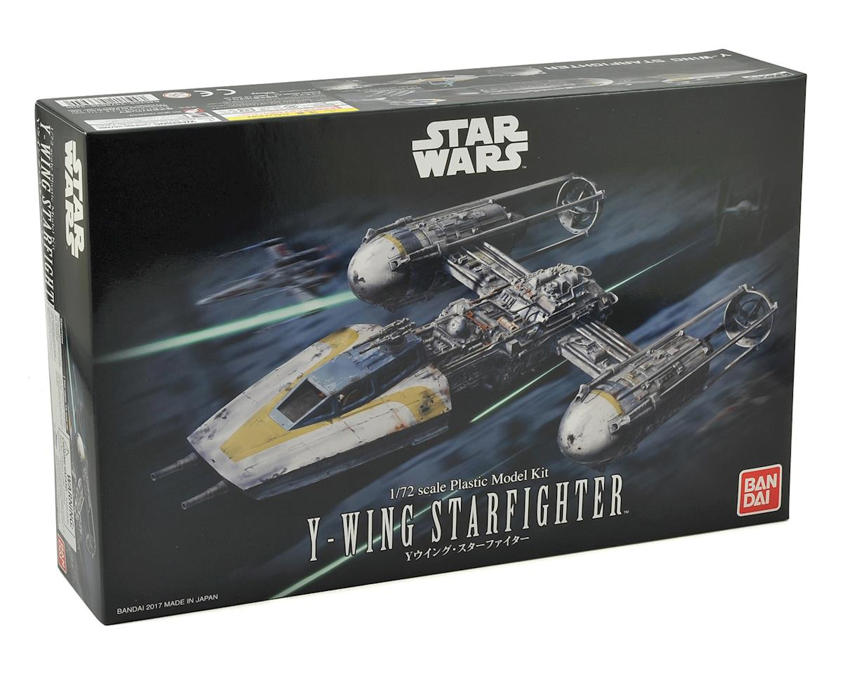 Star Wars 1/72 Y-Wing Star Fighter by Bandai