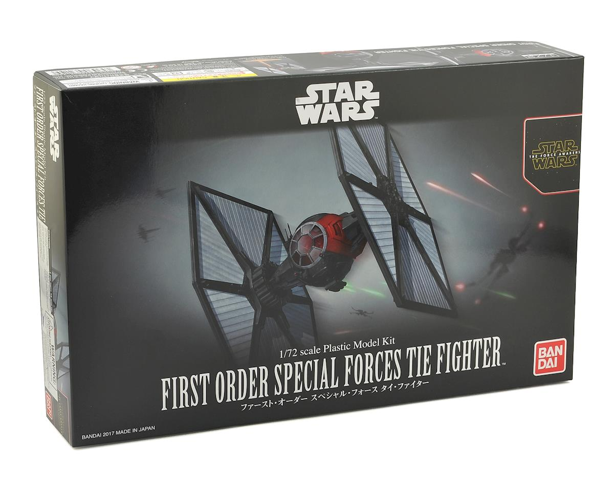 Bandai Star Wars Force Awakens 1/72 First Order Special Forces Tie Fighter