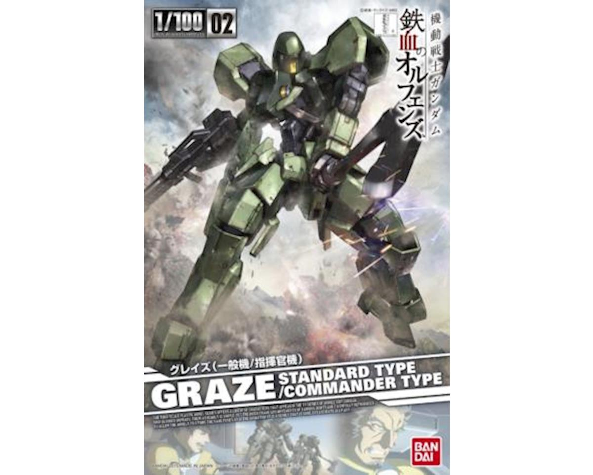 1/100 Graze Std/Cmnder Typeiron-Blooded by Bandai