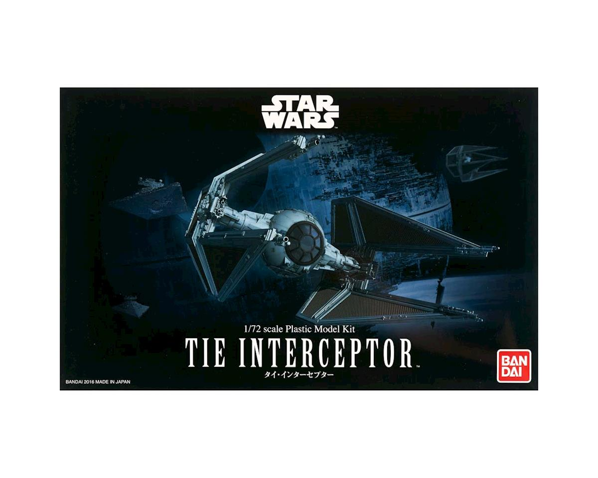 Star Wars 1/72 Tie Interceptor by Bandai