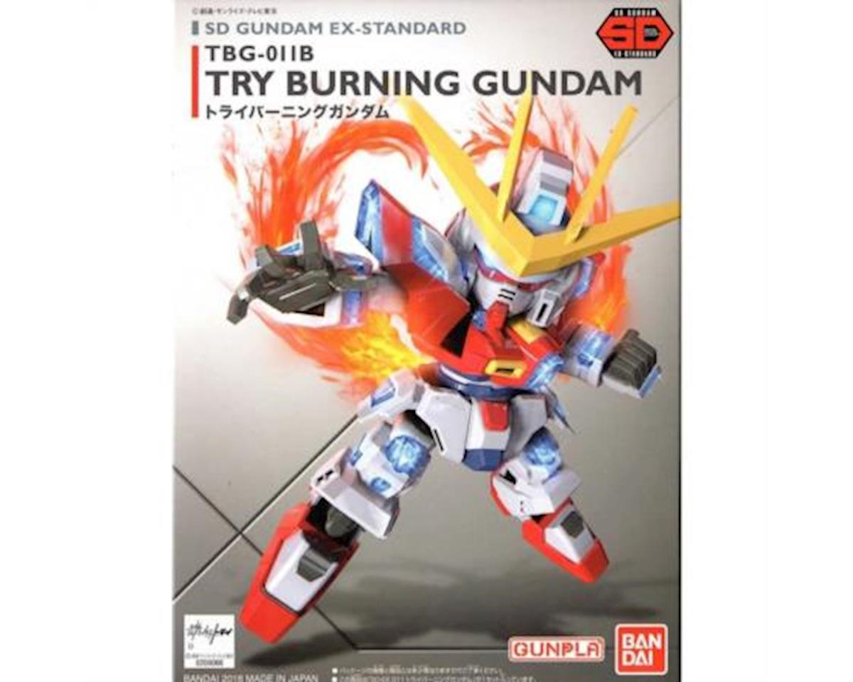 Bandai 011 Try Burning Gundam Sd Ex-Standard