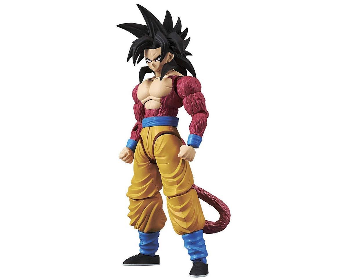 Bandai 214497 Super Saiyan 4 Son Goku Drgn Ball GT BAN Fig-Ris