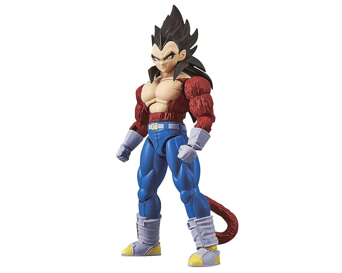 Bandai 214498 Super Saiyan 4 Son Vegeta Drgn Ball GT Fig-Ris
