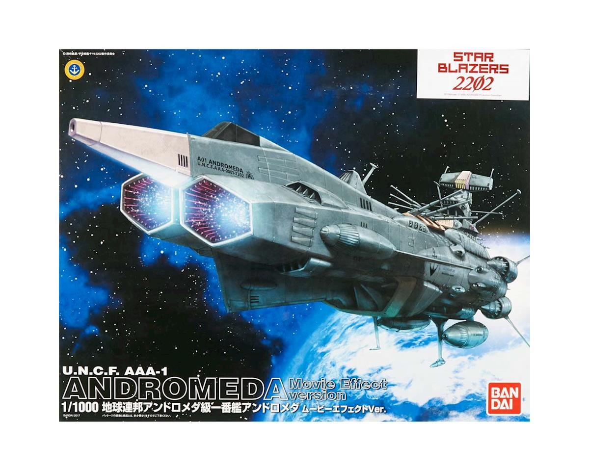 Bandai 214500 1/1000 Andromeda Movie Effect Str Blzrs 2202