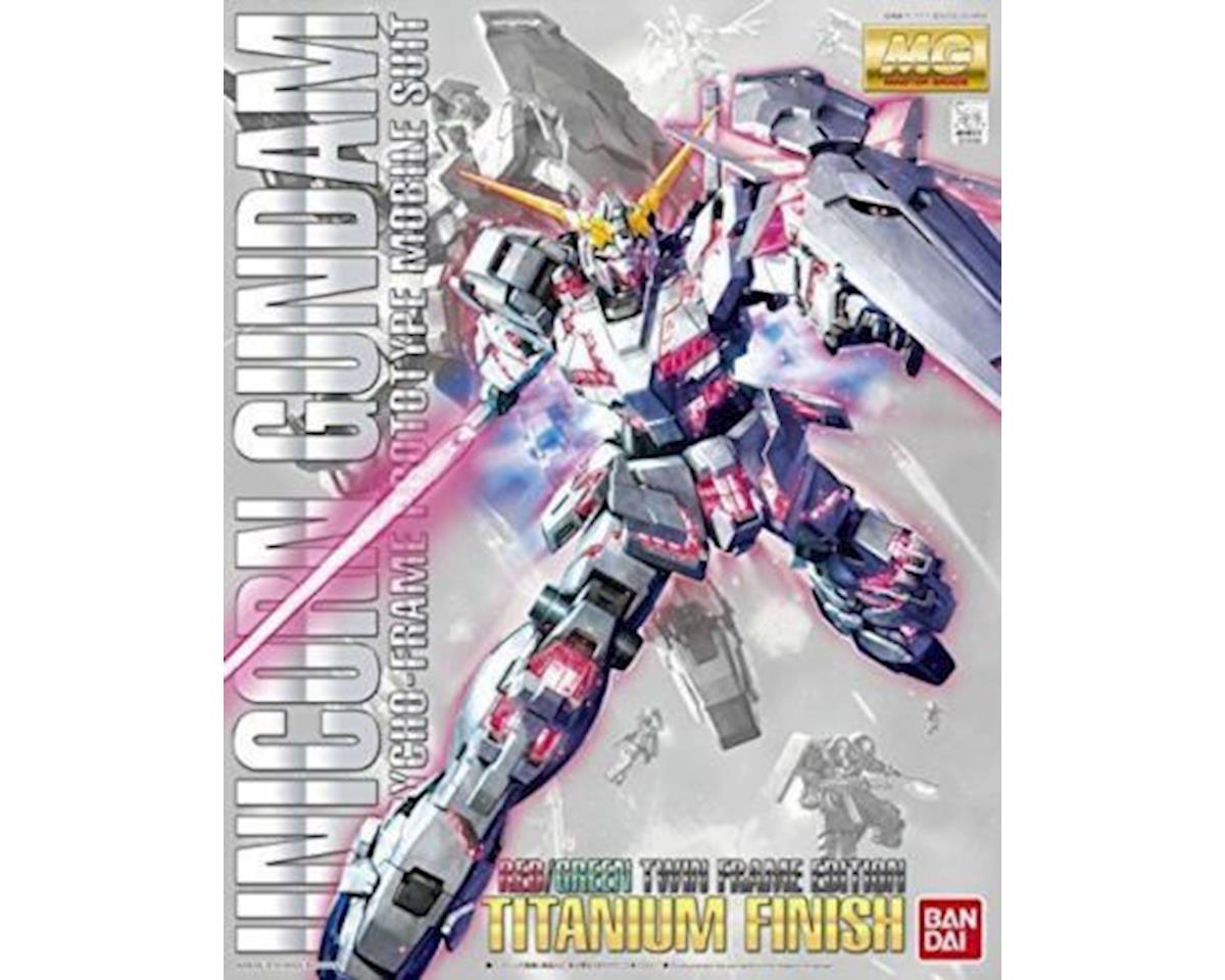 Bandai Unicorn Gundam Titanium Finish Ms Gundam Unicorn