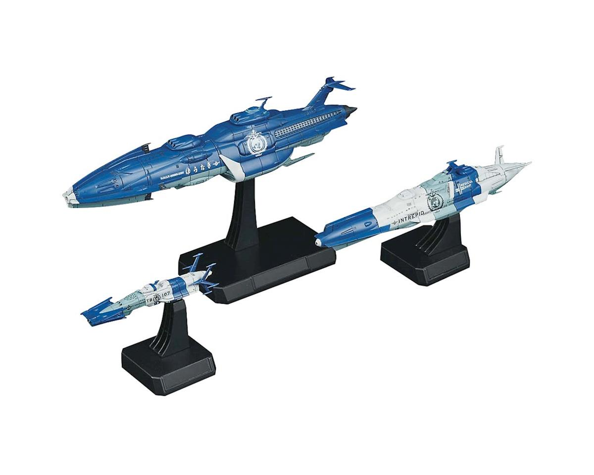 1/1000 Yunagi Combined Cosmo Fleet Str Blzrs 220 by Bandai