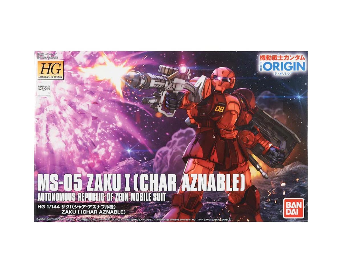 Bandai 216379 1/144 MS-05 Zaku 1 Char Aznable Bttl Mare Origin