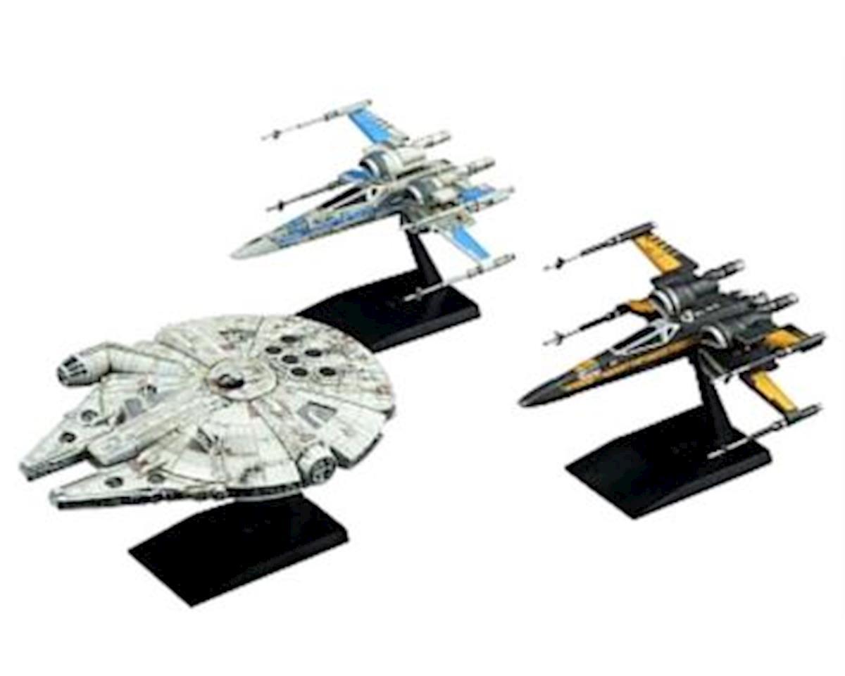 Bandai 219769 1/144 1/350 Resistance Vehicle Set SW Last Jedi