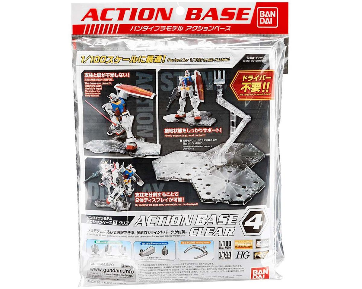 Bandai 222131 Clear Action Base 4 for Gundam 1/100