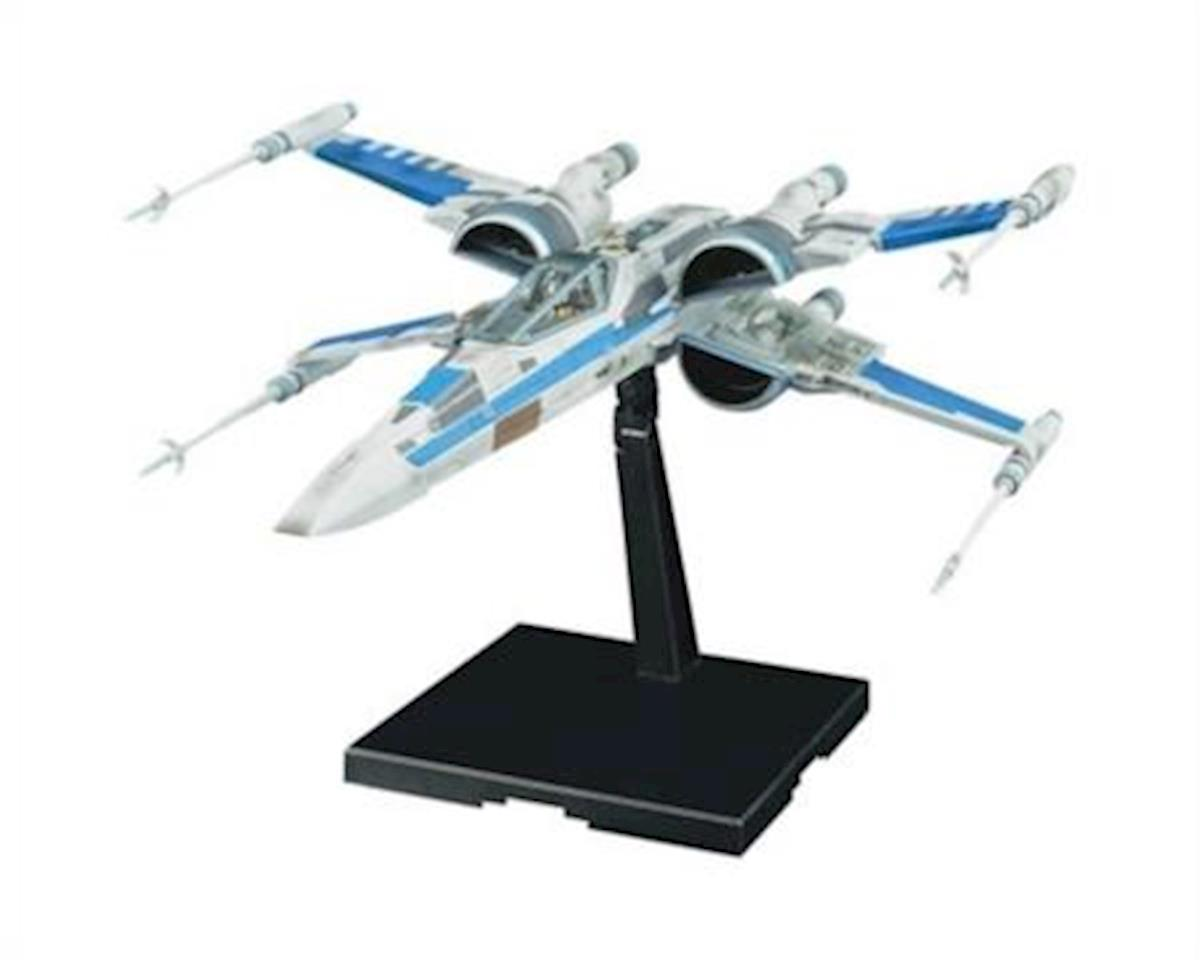 Bandai 223296 1/72 Blue Squadron Resistance X-Wing Fighter SW