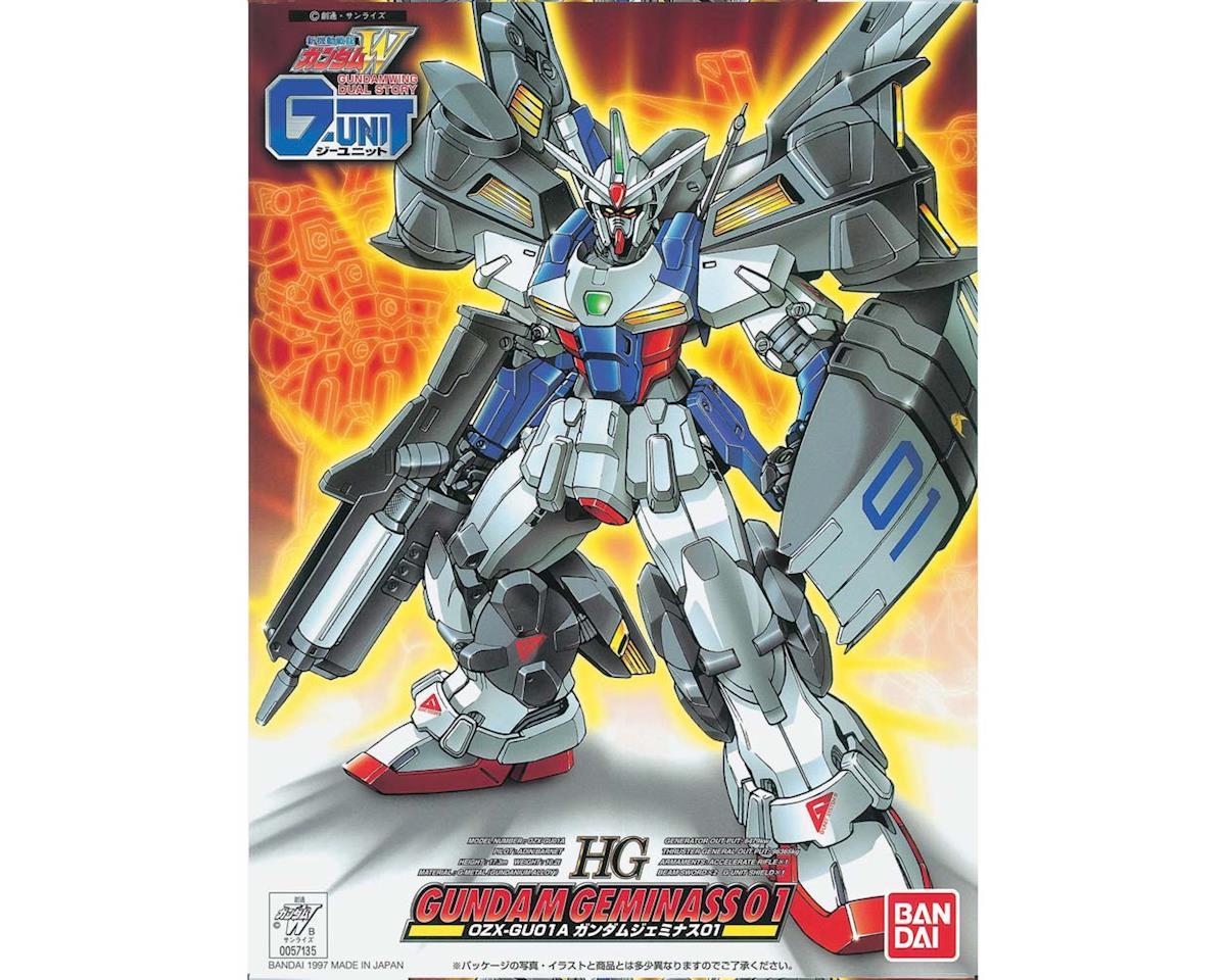 Bandai 1/144 Gundam Geminass 01 Gundam Wing G-Unit HG