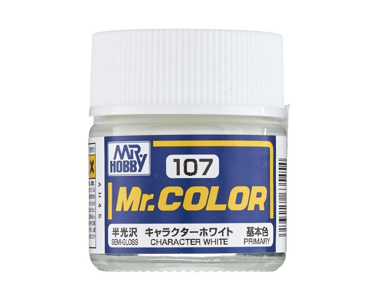 GNZ-C107 Semi Gloss Character White 10ml by Bandai