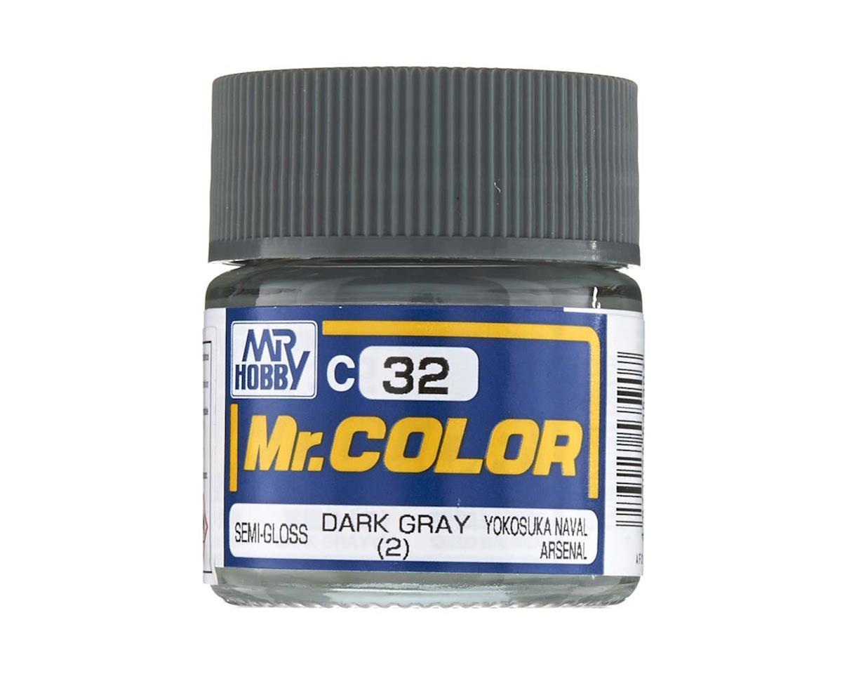 GNZ-C32 Semi Gloss Dark Gray 2 10ml by Bandai