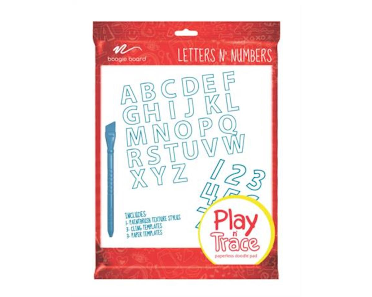 Bb Play&Trace Letters&Numbers