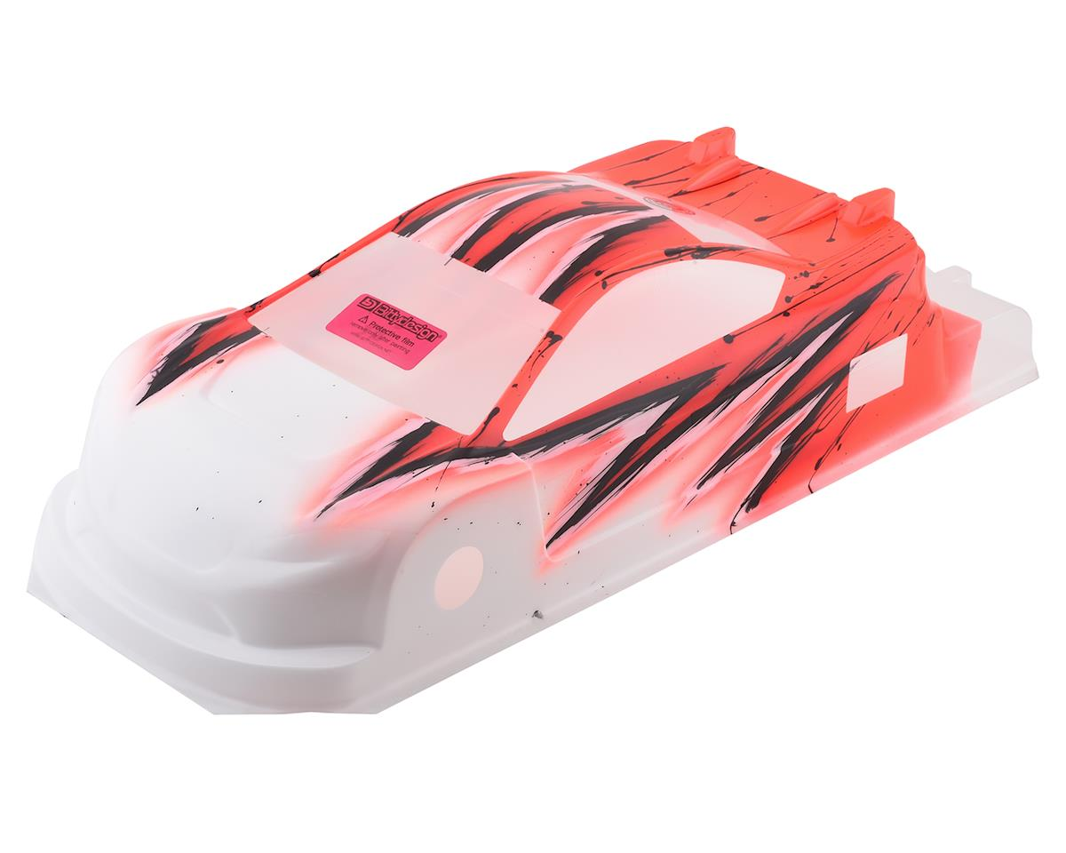 Bittydesign JP8HR Pre-Painted 1/10 Touring Car Body (190mm) (Wave/Red)