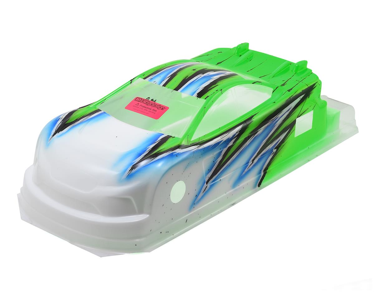 Bittydesign JP8 Pre-Painted 1/10 Touring Car Body (190mm) (Wave/Green)