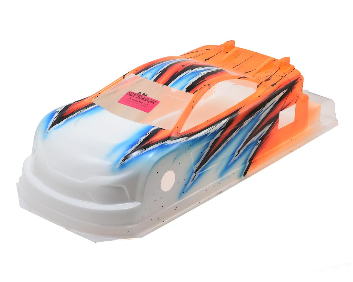 Bittydesign JP8 Pre-Painted 1/10 Touring Car Body (190mm) (Wave/Orange)