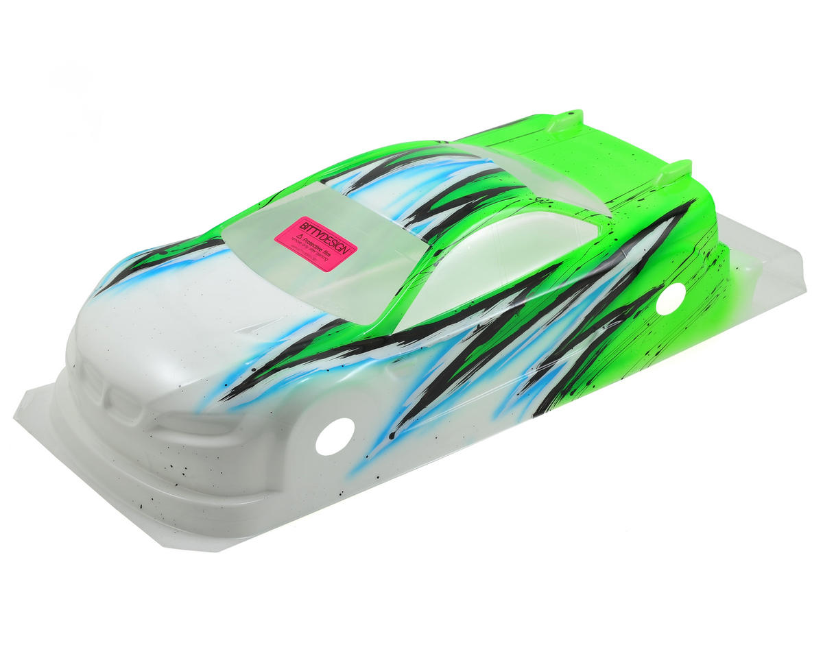 Bittydesign M15 EFRA Spec 1/10 Pre-Painted Touring Car Body (Wave/Green) (190mm)