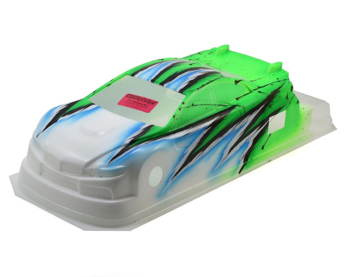Bittydesign M410 1/10 Pre-Painted 190mm TC Body (Wave/Green)