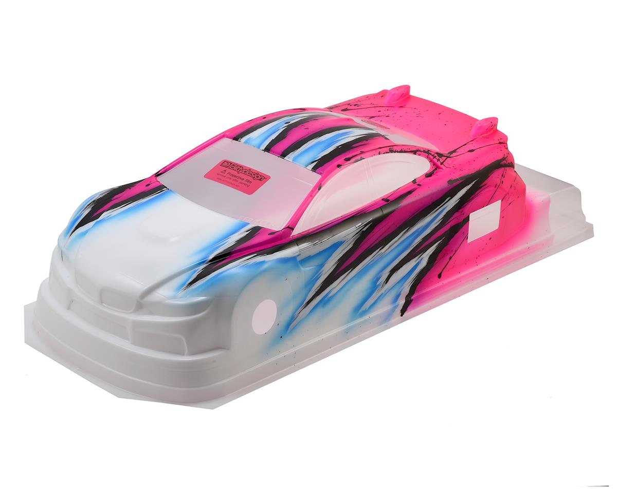Bittydesign M410 1/10 Pre-Painted 190mm TC Body (Wave/Pink)